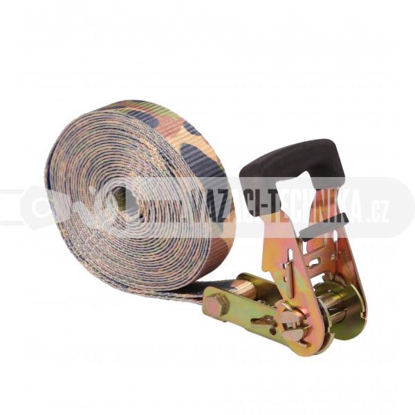 obrázek Jednodílný upínací popruh 1,5 t maskáč