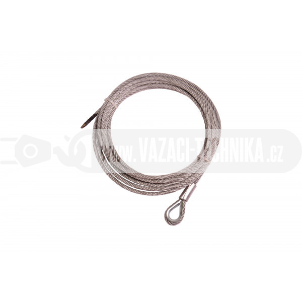 obrázek Navijákové lano STANDARD pr.5 mm s očnicí