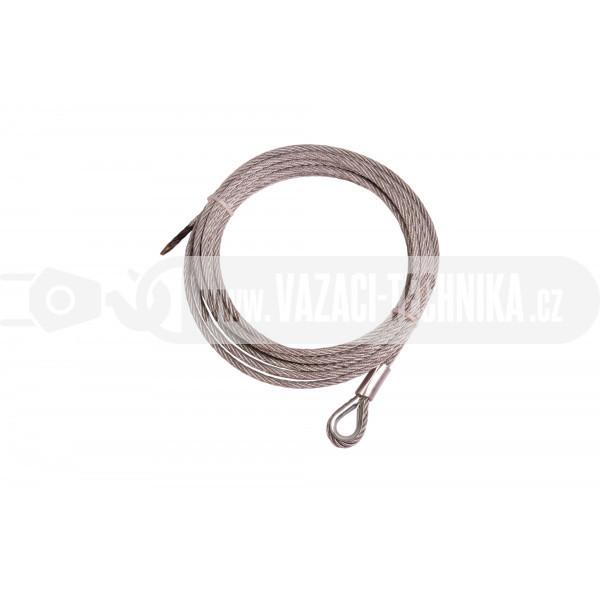 obrázek Navijákové lano STANDARD pr.6 mm s očnicí