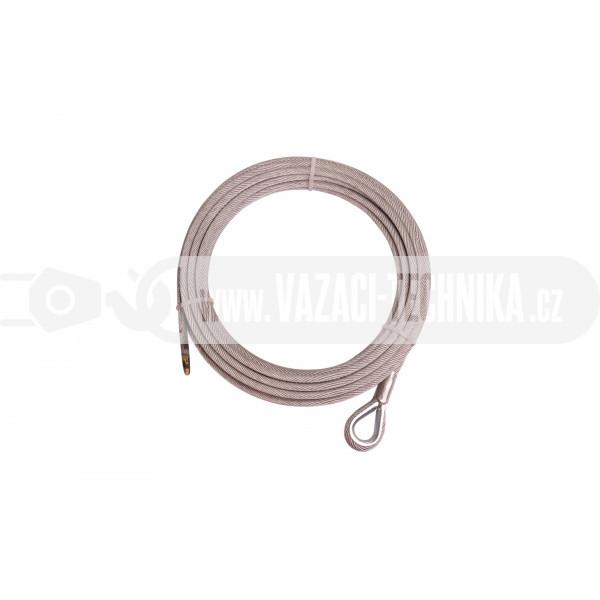 obrázek Navijákové lano HERKULES pr.6 mm s očnicí