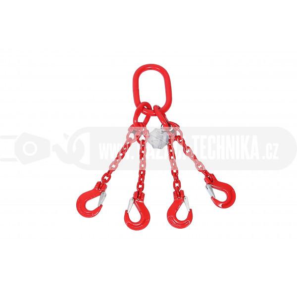 obrázek Vázací řetěz čtyřhák tř.8 pr.10 mm