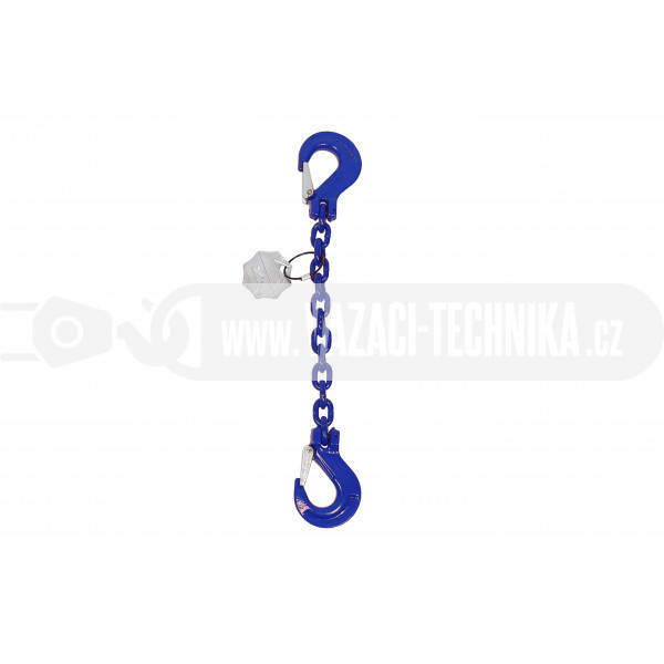 obrázek Vázací řetěz hák-hák tř.10 pr.6 mm