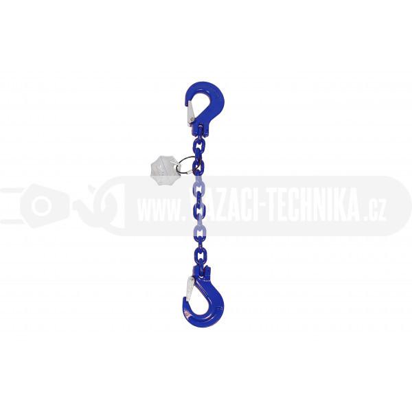 obrázek Vázací řetěz hák-hák tř.10 pr.8 mm