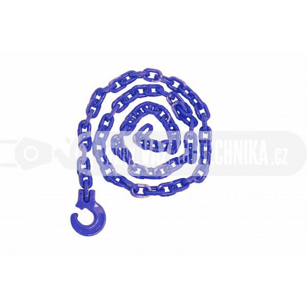 obrázek Lesnický řetěz hranatý modrý pr.7 mm tř.10