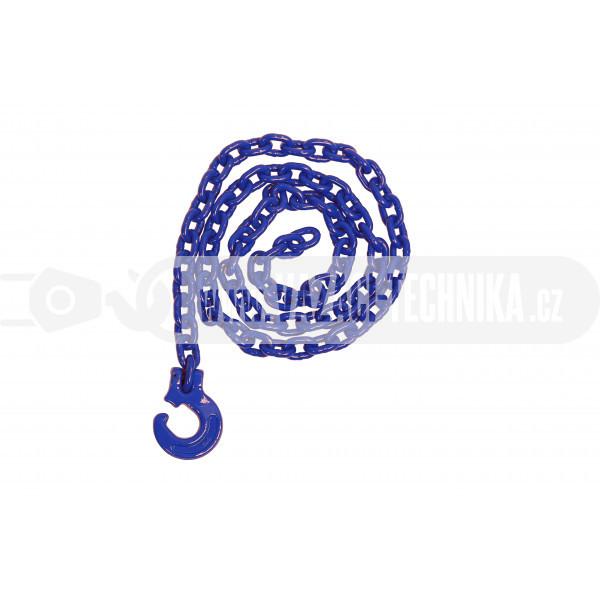 obrázek Lesnický řetěz kulatý modrý pr.8 mm tř.10