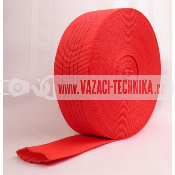 obrázek Dutý popruh červený