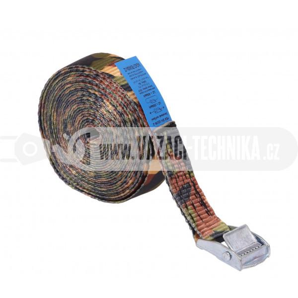 obrázok Rýchloupínací popruh PES 500 kg maskáč