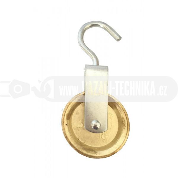 obrázek Lehká kladka s hákem pr.6 mm