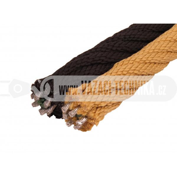 obrázok PP lano s oceľovým jadrom