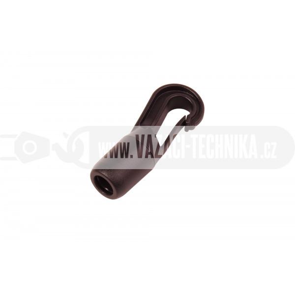 obrázek Háček na gumolano plast pr.8 mm