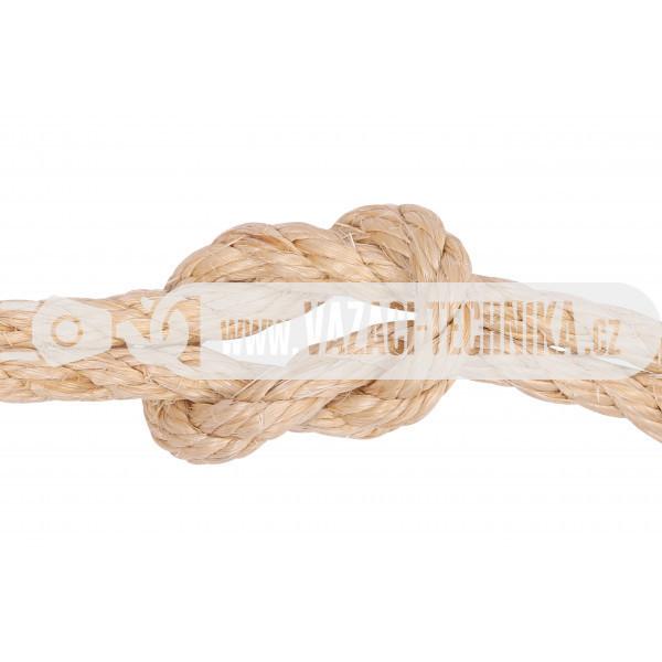 obrázek Sisalové lano pr.10 mm