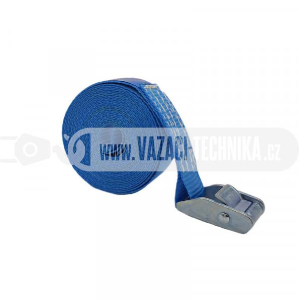 obrázek Rychloupínací popruh PES 500 kg modrý