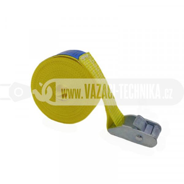 obrázek Rychloupínací popruh PES 500 kg žlutý