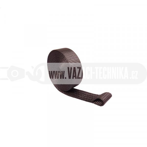 obrázek Popruh s okem š.25 mm 1,5 t BLACK