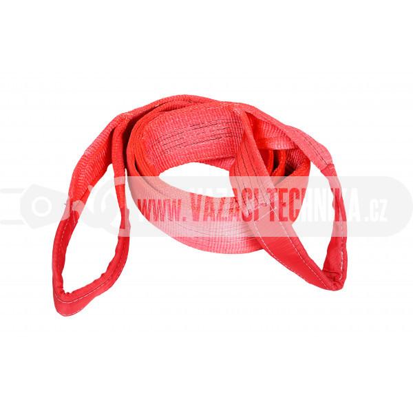 obrázek Zvedací textilní pás s oky 5 t