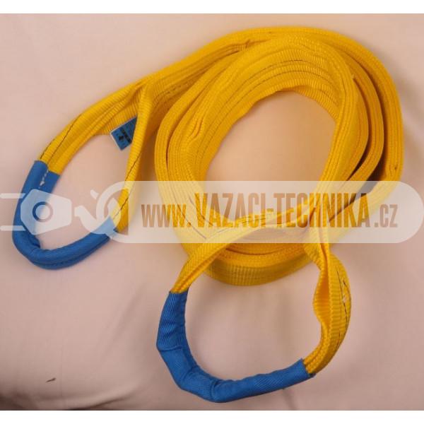 obrázek Zvedací textilní pás čtyřvrstvý 6 T