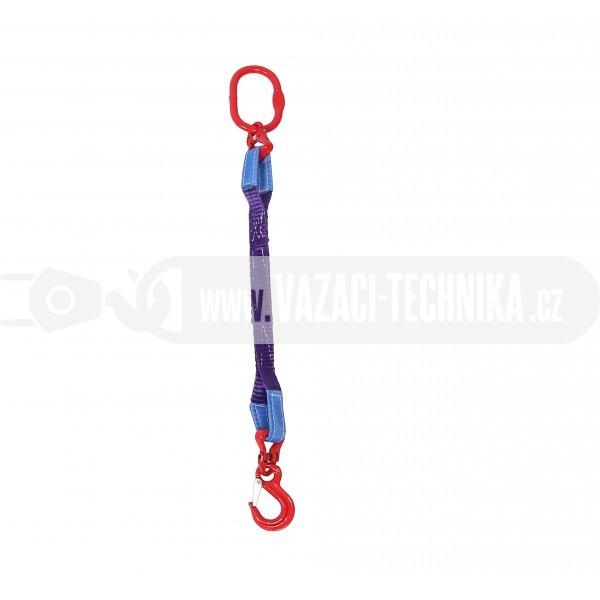 obrázek Textilní oko-hák z pásů s oky 1 t