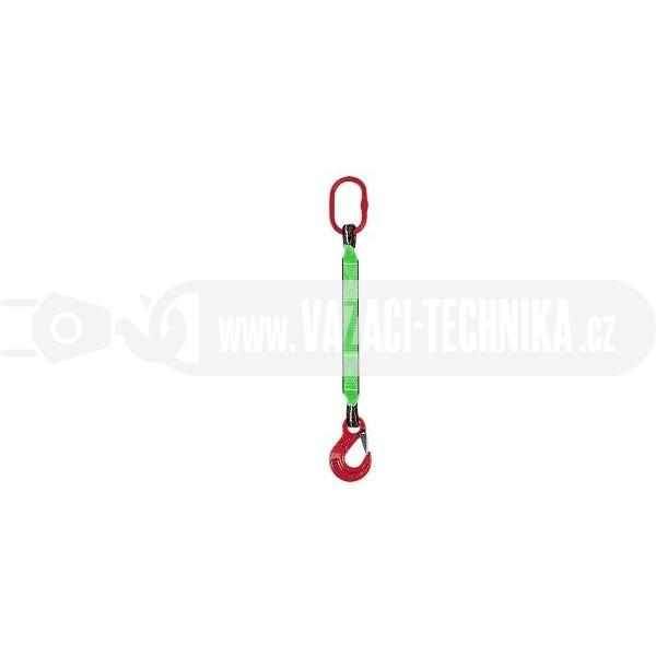 obrázek Textilní oko-hák z pásů s oky 2 t