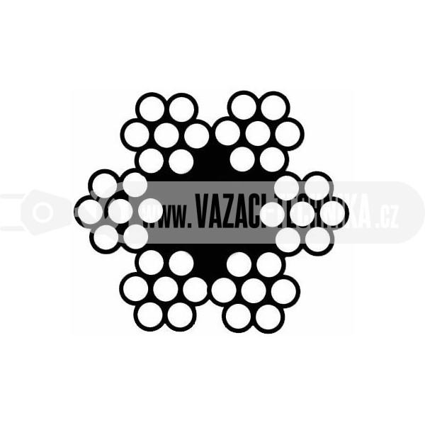 obrázek Ocelové lano STANDARD 6x7