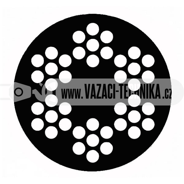 obrázek Ocelové lano STANDARD 6x7 s PVC- černé
