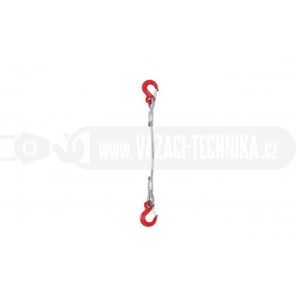 obrázek Vázací lano hák-hák pr.5 mm