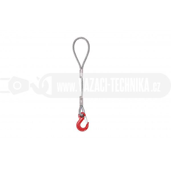 obrázek Vázací lano oko-hák pr.8 mm