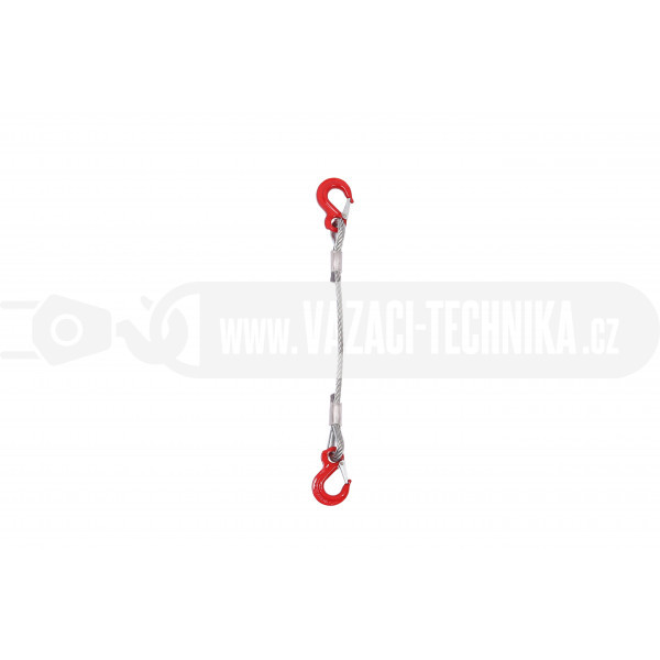 obrázek Vázací lano hák-hák pr.14 mm