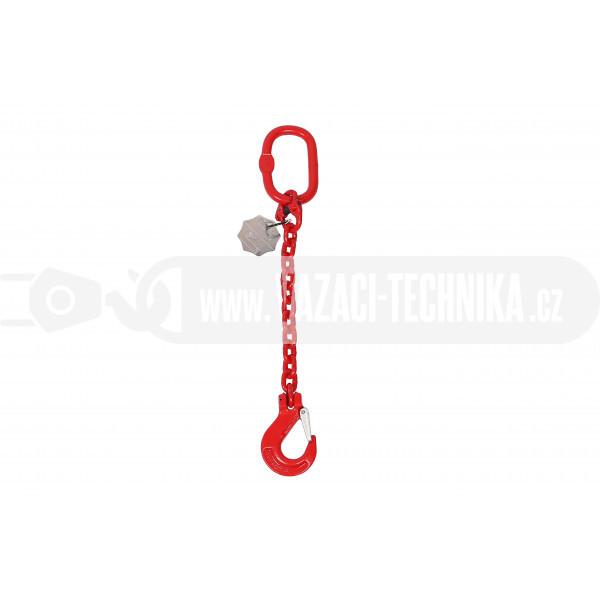 obrázek Vázací řetěz oko-hák tř.8 pr.6 mm
