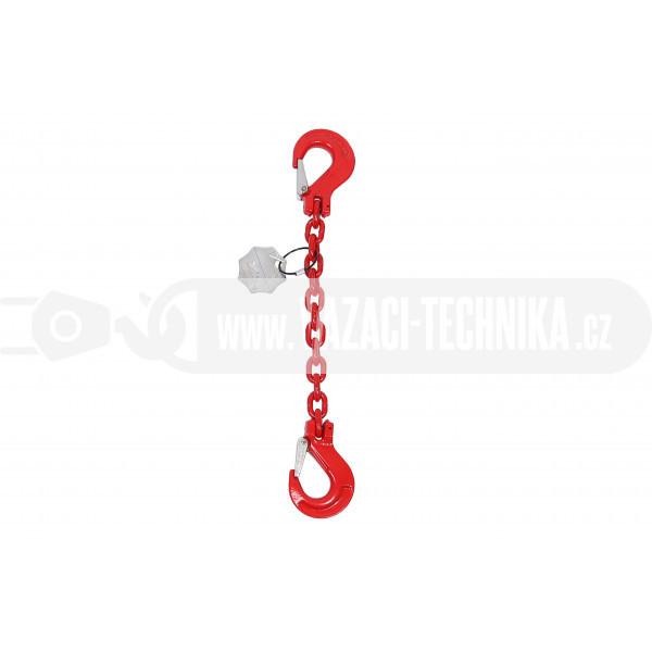 obrázek Vázací řetěz hák-hák tř.8 pr.6 mm
