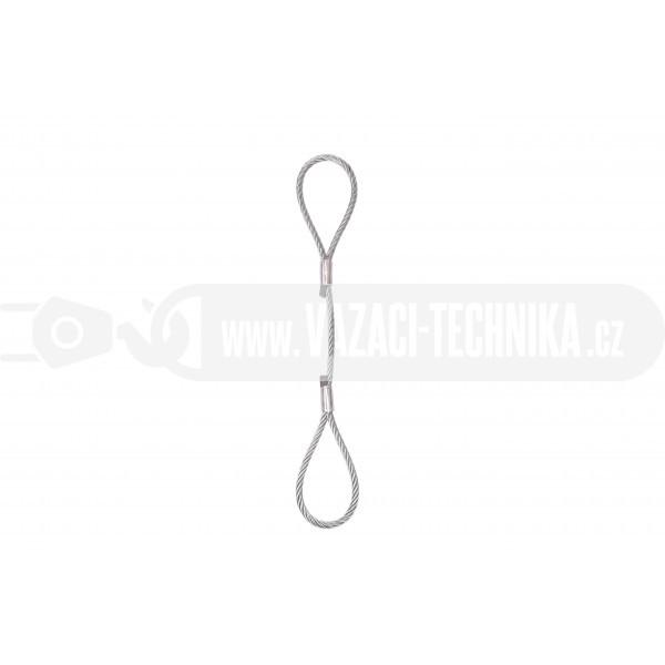 obrázek Nerezové vázací lano oko-oko pr.12 mm