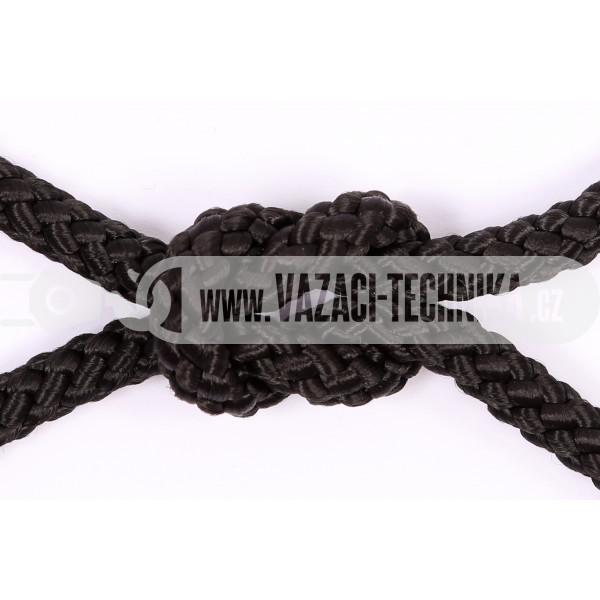 obrázek Polypropylenový provaz černý