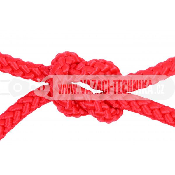 obrázek Polypropylenový provaz červený