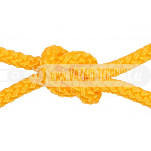 obrázek Polypropylenový provaz žlutý