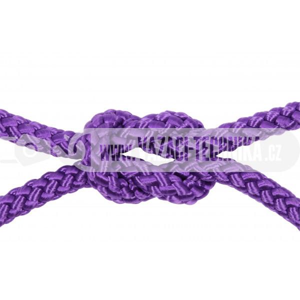 obrázek Polypropylenový provaz fialový