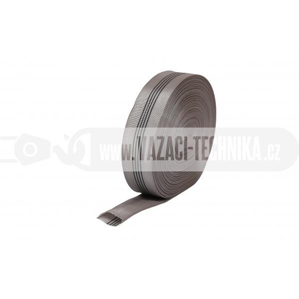 obrázek Dutý popruh šedý